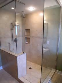shower ideas for small bathrooms walk in shower ideas remodeling contractor talk