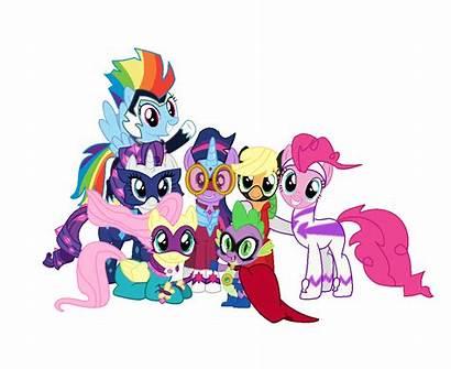 Mane Power Spike Ponies Applejack Pony Twilight