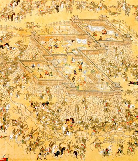siege korian siege of ulsan