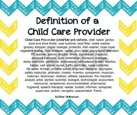 definition of a child care provider quotes 960 | cbd491ed0507dcf90d919a72068cc057