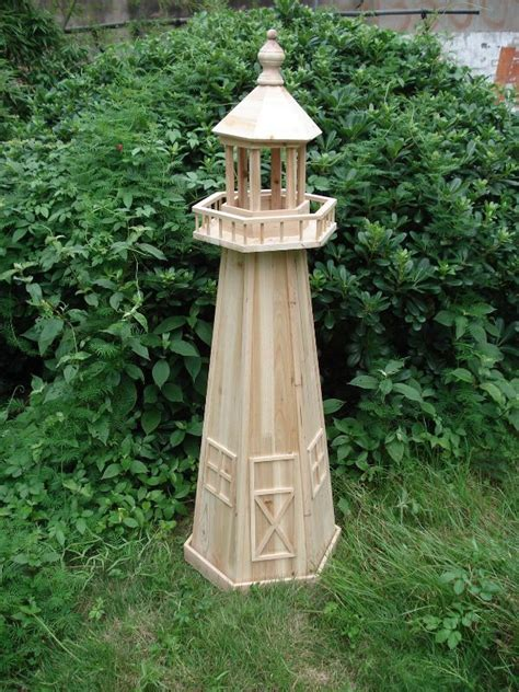 Garden Decoration Free by Marvelous Garden Lighthouse 6 Wooden Lighthouse