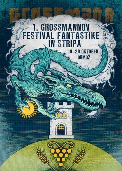 Prihaja prvi Grossmannov festival fantastike in stripa ...