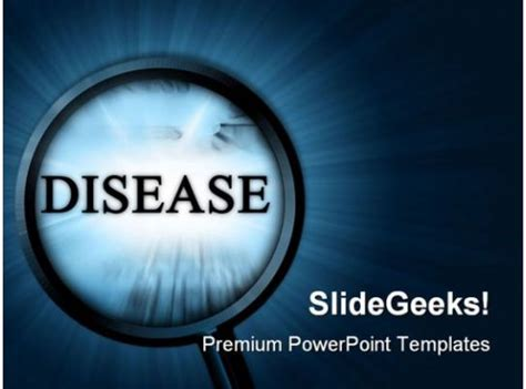 disease metaphor powerpoint templates  powerpoint
