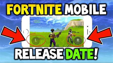 fortnite mobile release date    xbox