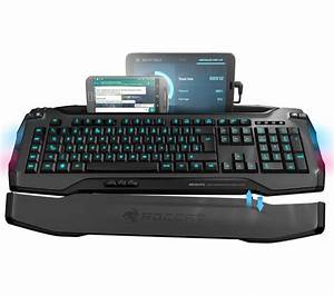Buy ROCCAT Skeltr Wireless Gaming Keyboard - Grey | Free ...