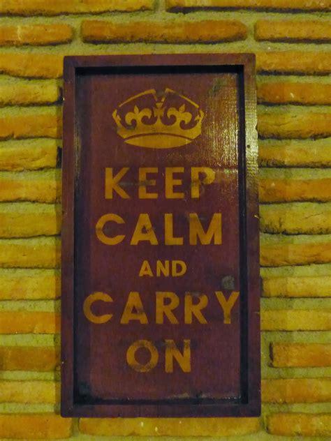 """reciclaiRetro: Cartel """"KEEP CALM AND CARRY ON"""" Precio 40eu"""