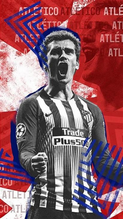 Griezmann Antoine Football Messi Ronaldo