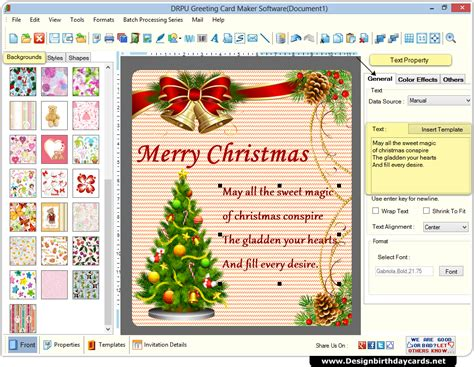 greeting cards design software create colorful cards