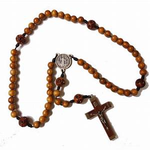 African Wood Rosary