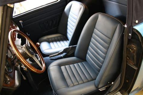 restauration siege voiture cecil cars la référence de la voiture anglaise de collection
