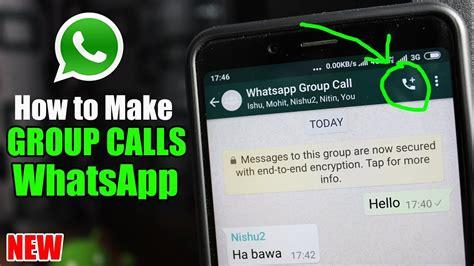 whatsapp calls calling