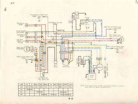 Wire Diagram 1975 Kz400 by Service Manuals The Junk S Adventures