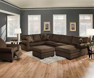 Furniture awesome sectional couches design with square for Sectional couch living room layout