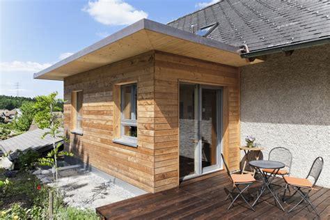 Anbauten Aus Holz by Anbau Aus Holz Stylish Holzbau Funk Holzanbau Hausanbau