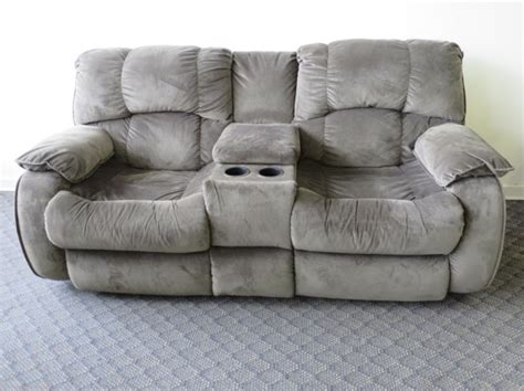 Reclining Loveseat With Middle Console by Dual Reclining Loveseat W Center Console