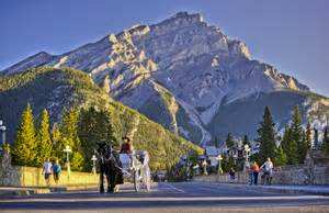 Banff Alberta Canada Activities And Transportation Services