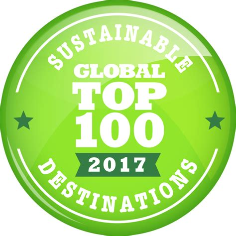 Green Destinations  2017 Top 100  Green Destinations