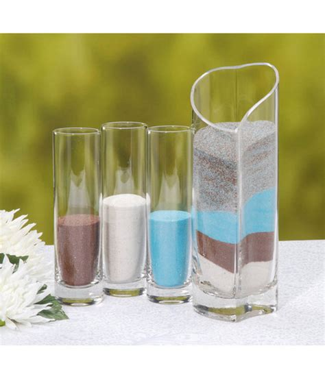 pouring vases for sand ceremony anointed creations wedding and event planning unity sand