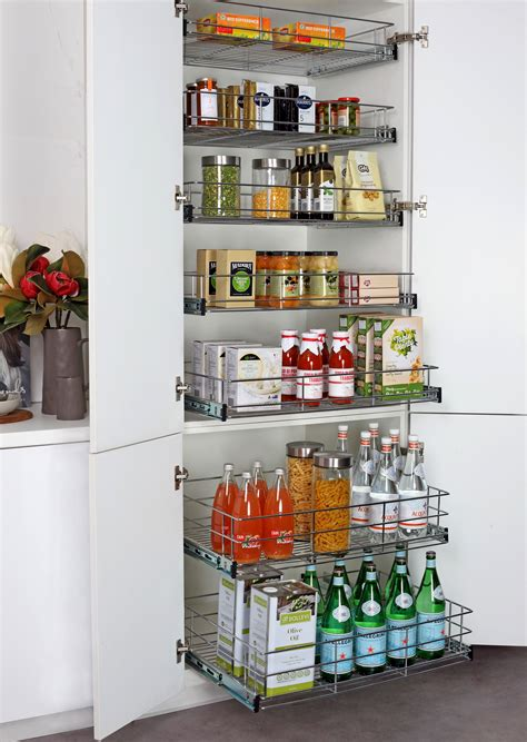 shelf organizers kitchen pantry pull out pantry for new and existing kitchen cabinets 5178