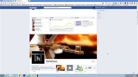 How to put Animated GIF as facebook Timeline Cover ...