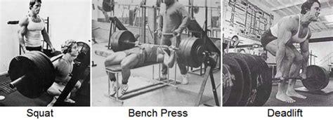 bench squat deadlift the best building exercises hayward s total