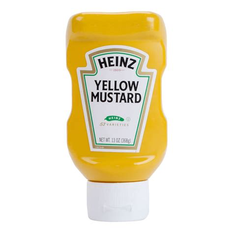 shop sinks and faucets heinz yellow mustard 13 oz upside down squeeze bottle