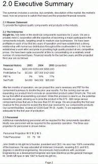 How To Write The Summary Part Of A Resume by 5 Executive Summary Templates Excel Pdf Formats