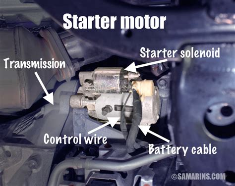 starter motor starting system   works problems