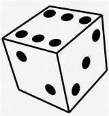 Dice Clipart Drawing Coloring Backgammon Clip Monopoly Chance Colorare Desenho Colorir Dados Dessin Transparent Disegno Dado Colorear Dadi Pngkey Template sketch template