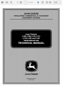 John Deere L100  L108  L110  L111  L118  L120  L130 L