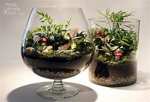 Minigarten Im Glas : 25 adorable miniature terrarium ideas for you to try ~ Eleganceandgraceweddings.com Haus und Dekorationen
