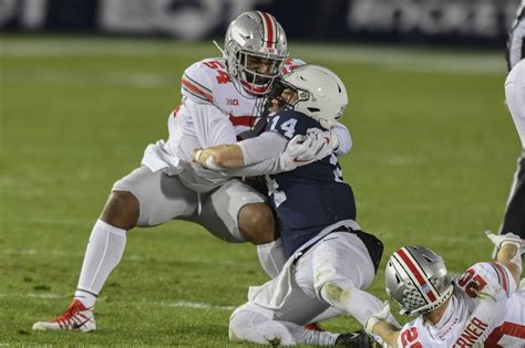In Ohio State football's 38-25 victory at Penn State, the ...