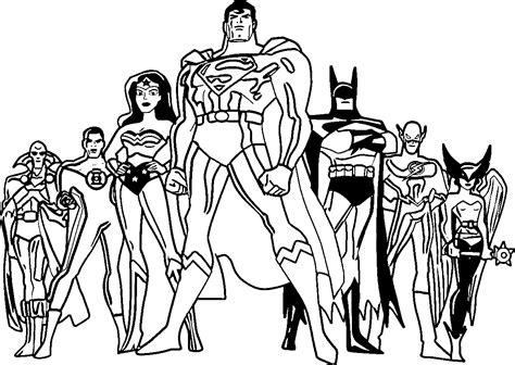 disegni da colorare della justice league justice league coloring pages best coloring pages for