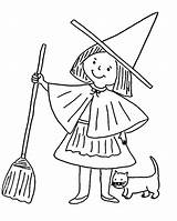 Witch Coloring Pages Printable Witches Halloween Preschool Cartoon Coloring4free Cat Clipart Hat Coloringlab Oz Wizard Broomstick Flying Worksheets Popular Scary sketch template