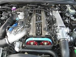 Toyota Supra Stock Engine