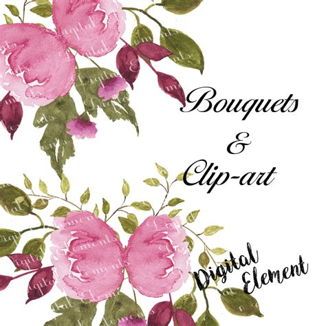 watercolor flower clipart     clipartmag
