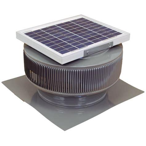 solar fan for house active ventilation 740 cfm weatherwood powder coated 10