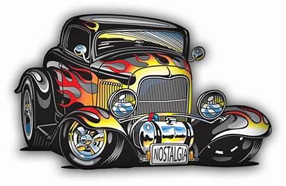 Cars Rod Vegas Cartoon Drawings Drawing Rat