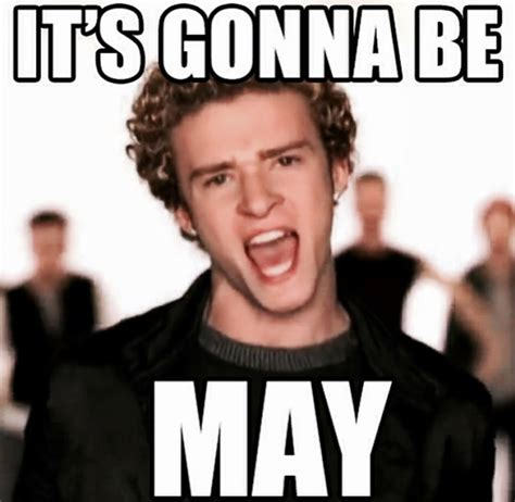 Its Gonna Be May Meme - my favorite things april pumps iron