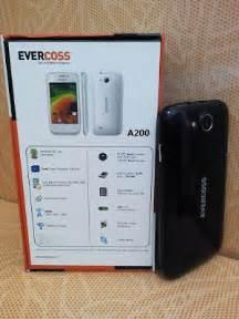 Harga Dan Merk Hp Evercoss harga dan spesifikasi hp evercoss a200 hp android murah