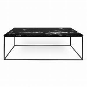temahome gleam long black marble modern coffee table eurway With long marble coffee table