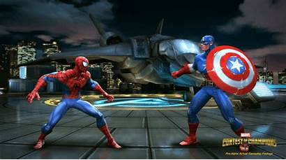 Marvel Champions Contest Spider Fighting Mobile Kabam