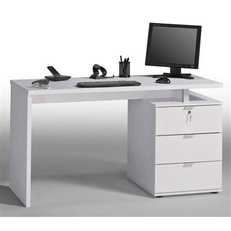 staples white computer desk beama desk 1400mm icy white high gloss white staples