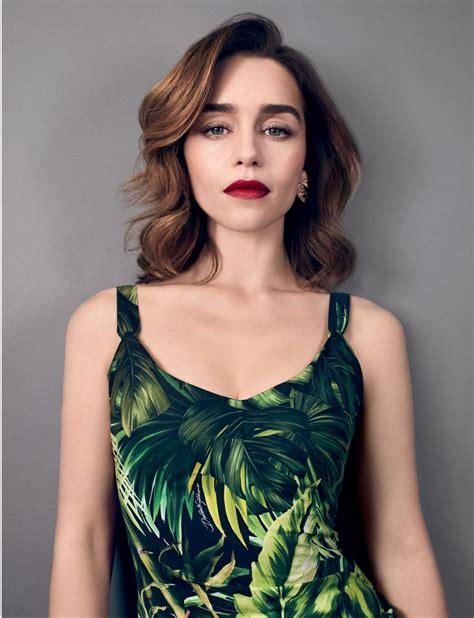 British actress emilia clarke was born in london and grew up in oxfordshire, england. EMILIA CLARKE in A&E Magazine, March 2020 - HawtCelebs