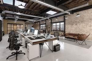 Loft, Office, Space, On, Behance