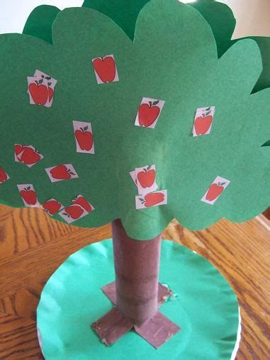 our crafts n things apple tree craft with paper towel 893 | f31a7243cca0e40fb8cd77199aa2f685