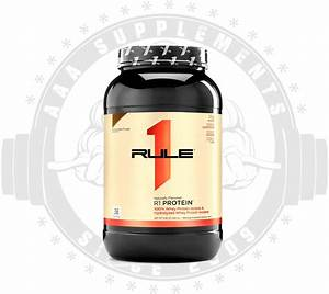 Aaa Supplements Rule One Proteins - R1 Protein Natural  76 Serve   2 5lbs