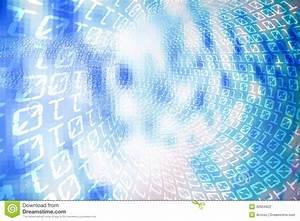 Binary code background stock photo. Image of computer ...