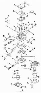 Snapper 212cst 21 2cc Curved Shaft Trimmer Series 2 Parts Diagram For Carburetor Parts 212cst