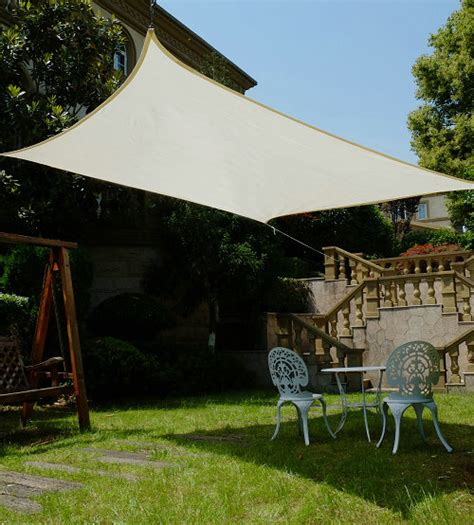 cool area square oversized 16 5 inches sun shade sail